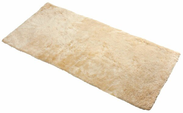 lambskin back seat Seat cover Cacey beige 120x60 cm