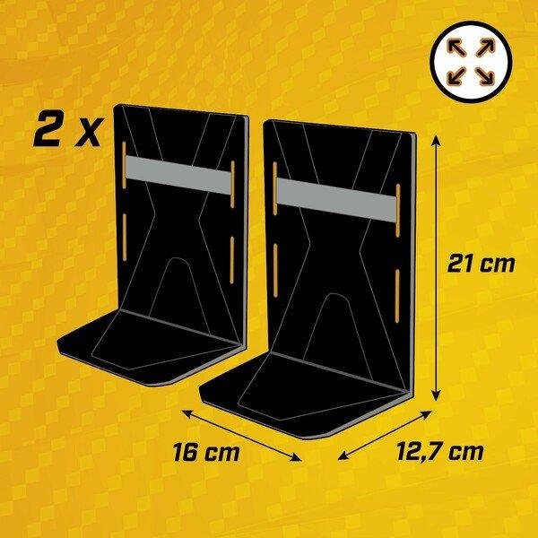 Kofferraum Ordnungshelfer Fast 2x S 2x Elastikband schwarz/grau