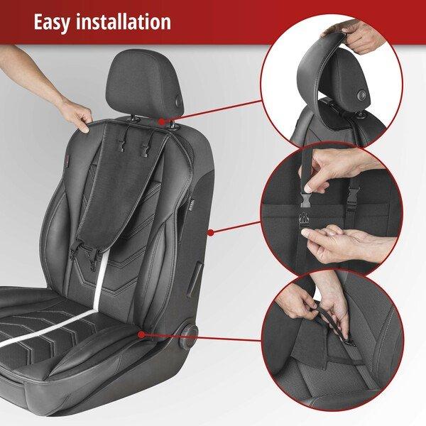 Car Seat cover Kimi black white
