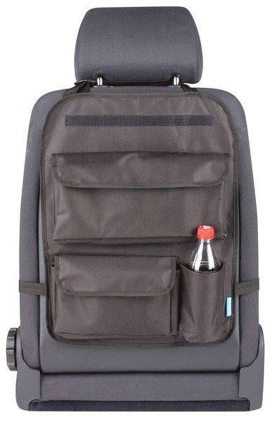 Back seat bag Maxi with removable tray holder black
