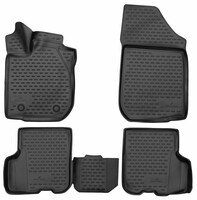 XTR rubber mats for Dacia Logan MCV II year 02/2013 - Today