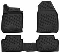 XTR rubber mats for Ford Ecosport, second generation year 09/2011 - Today