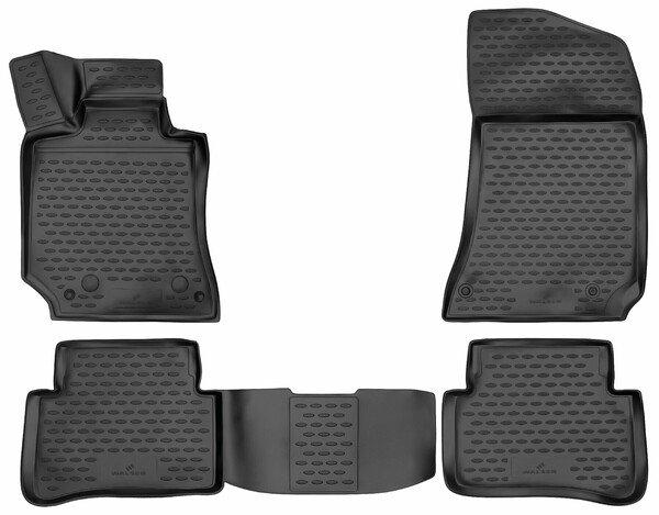 XTR rubber mats for Mercedes-Benz E-Klasse (W212/S212) year 2009 - 2016