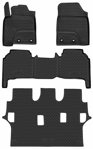 XTR rubber mats for Toyota Land Cruiser (J20) year 2012 - Today