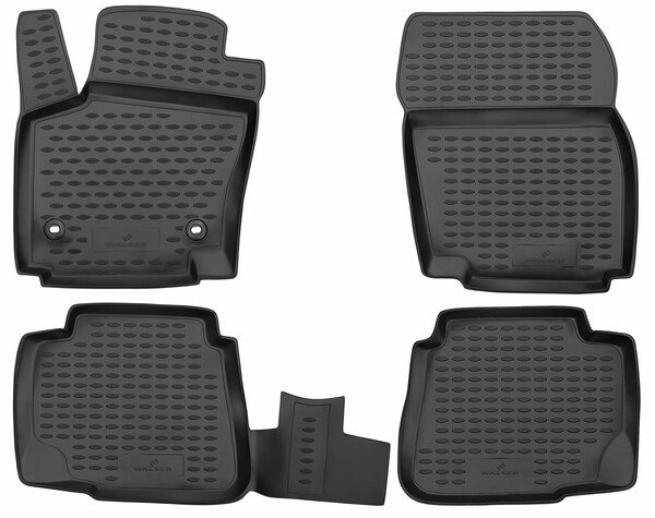 XTR rubber mats for Ford Mondeo IV year 03/2007 - 01/2015
