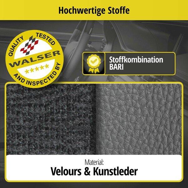 Passform Sitzbezug Bari für VW Up Baujahr 08/2011 - Heute, 2 Einzelsitzbezüge für Highbacksitze