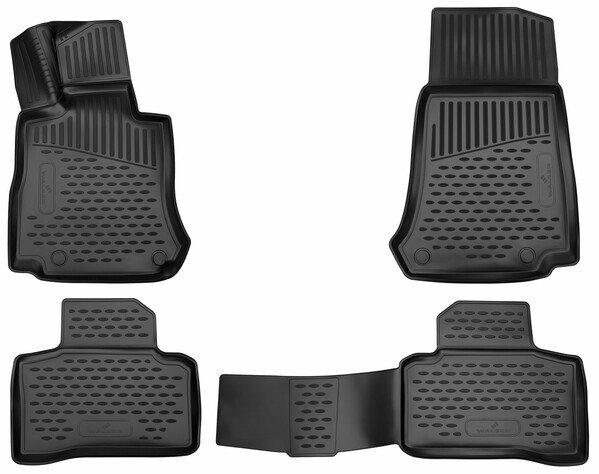 Gummimatten XTR für Mercedes-Benz GLC BJ 06/2015 - Heute, GLC Coupe BJ 06/2016 - Heute