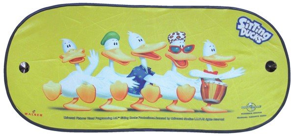 Sunshield Sitting Ducks Dance rear window 100x44cm
