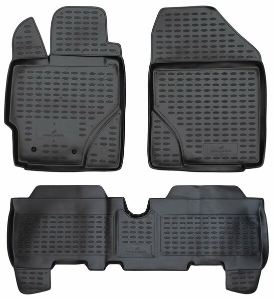 Gummimatten XTR für Toyota Yaris (P9) 01/2005-12/2014