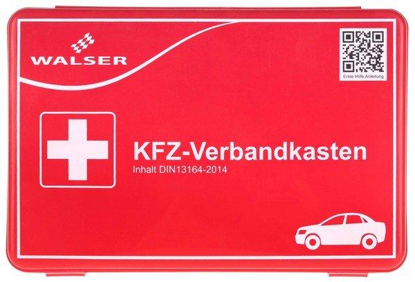 KFZ Verbandskasten rot nach DIN 13164