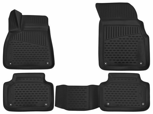 XTR rubber mats for Audi Q7 year 01/2015 - Today