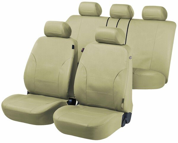 Car Seat covers Sussex mud green imitation leather
