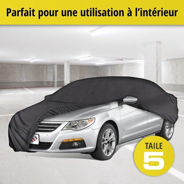 Bâche pour voiture d'intérieur Soft size 5 noir