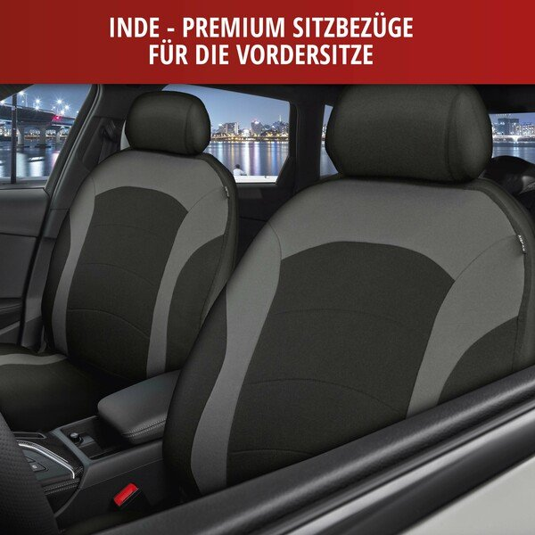 ZIPP IT Premium Inde Auto Sitzbezug mit Reissverschluss System