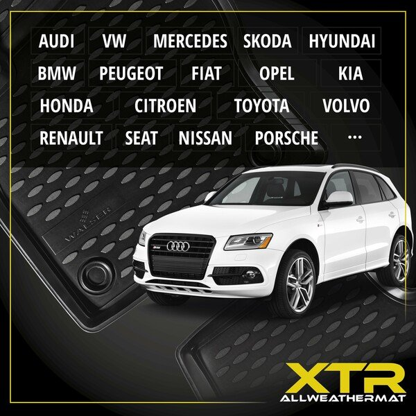 Tapis en caoutchouc XTR pour Ford S-MAX (WA6) année 05/2006 - 12/2014