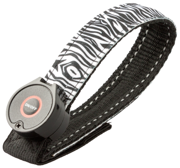 Soft LED Armband Zebra
