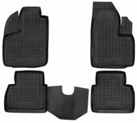 XTR rubber mats for Fiat Doblo (119, 223) year 03/2001 - Today