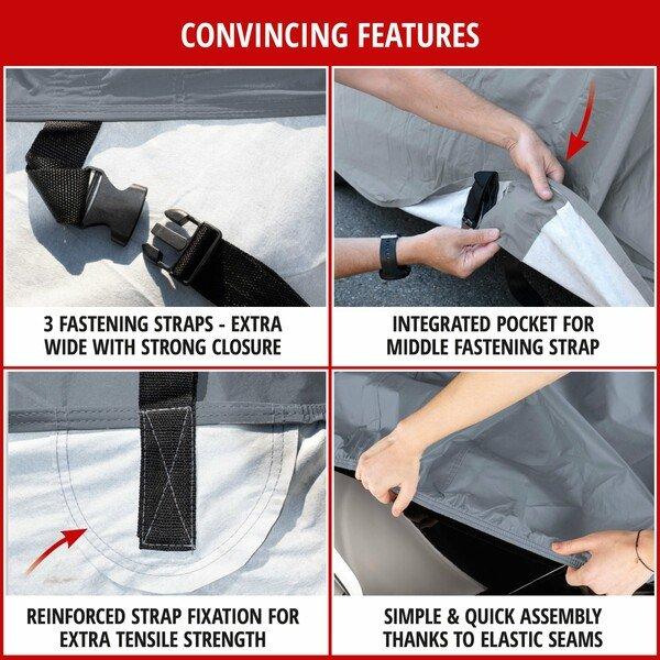 Car tarpaulinr All Weather Plus combi size M grey