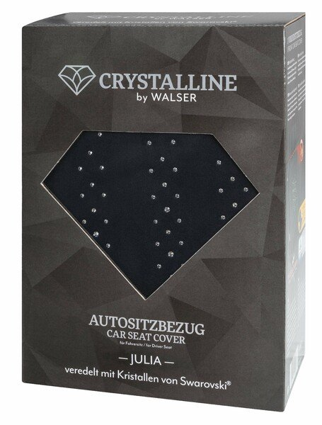 Car Seat cover Julia decorated with Swarovski® crystals for a front seat