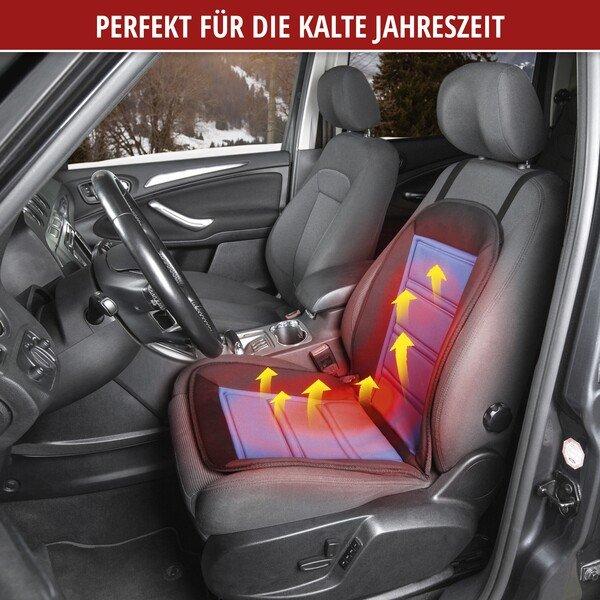Autositz Heizkissen Sitzheizung Warm Up schwarz-blau