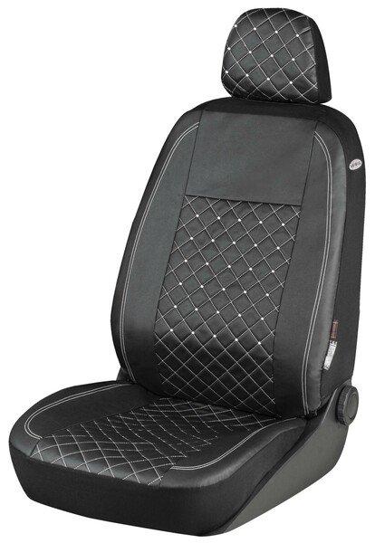 Housses de sièges Scarlett décorée de cristaux Swarovski® pour un siège avant