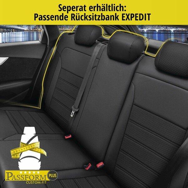 Sitzbezug 'Expedit' für Opel Corsa Baujahr 2014 bis heute - 2 Sitzbezüge für Normalsitze