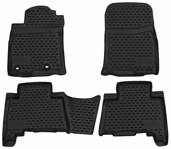 XTR rubber mats for Toyota Land Cruiser (J15) year 07/2009 - Today