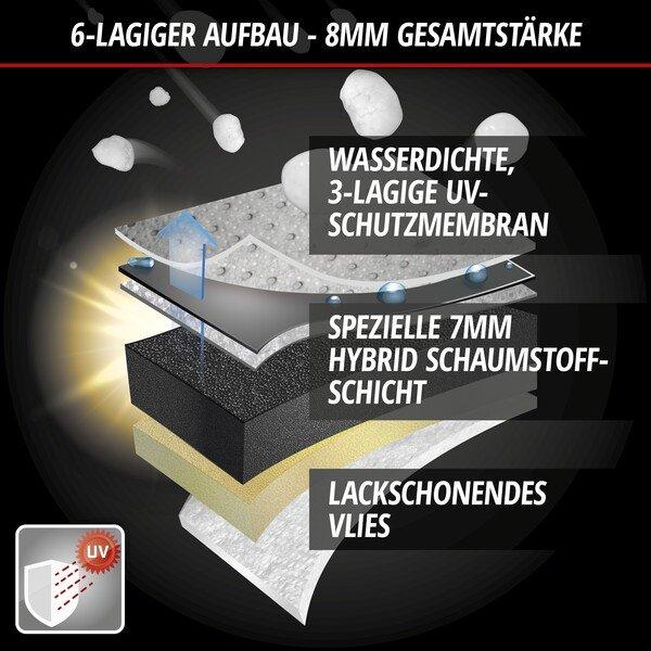 PKW Hagelschutz Hybrid UV Protect Größe S