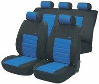 ZIPP IT Premium Sport Speed Autositzbezüge mit Reissverschluss System in Blau