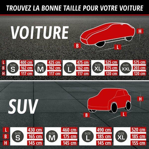 Bâches anti-grêle Hybrid UV Protect SUV taille L