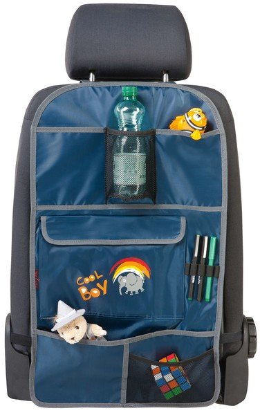 Autositz Kinder Organizer Rücksitztasche Cool Boy blau
