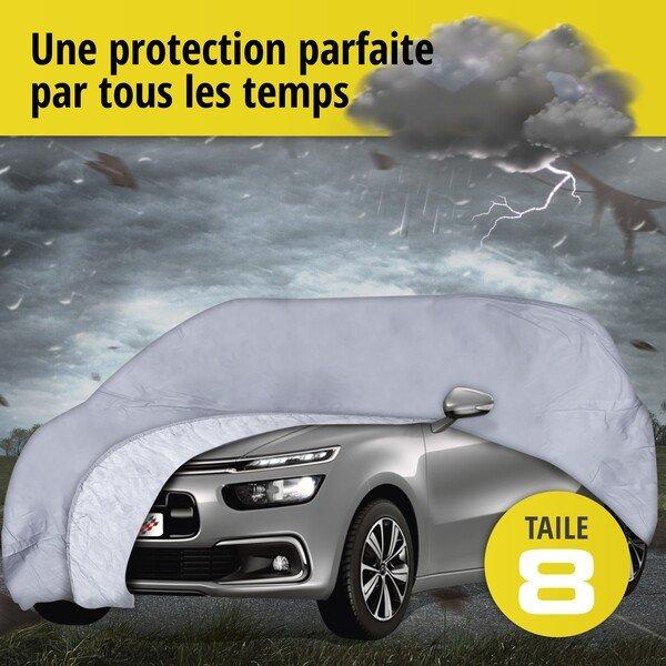 Bâche pour voiture All Weather Premium taille 8 grise