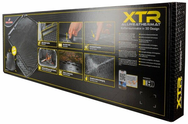 XTR Boot mat for Skoda Superb III Wagon/Sedan year 2015 - Today
