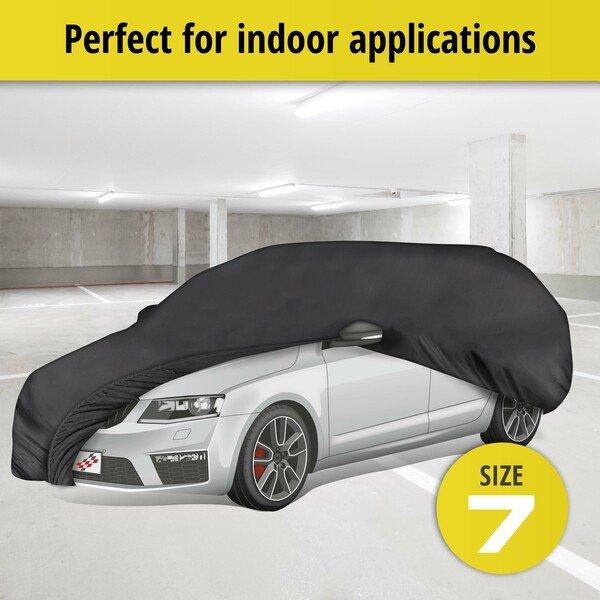 Car tarpaulin Indoor Soft size 7 black