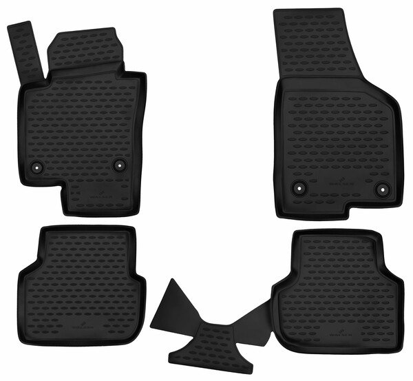 XTR rubber mats for VW Jetta IV Sedan year 01/2008 - Today