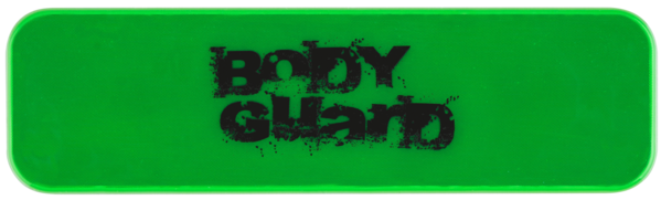 Neon Aufkleber Grün 70x20 mm