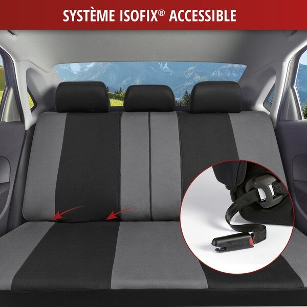ZIPP IT Premium Inde housses de siège auto avec système de fermeture éclair