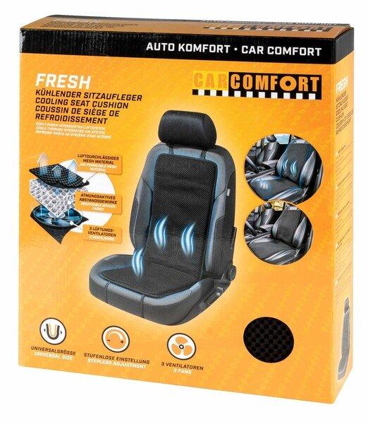 Housse de siège Fresh avec fonction de refroidissement, ventilateurs et matériau respirant