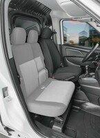 Transporter Coprisedili in tessuto per Fiat Doblo II, sedile singolo conducente