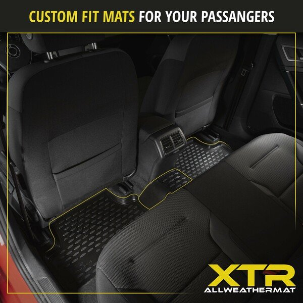 XTR rubber mats for Ford Focus II Turnier year 07/2004 - 09/2012, Focus II notchback year 04/2005 - Today, Focus II Cabriolet year 10/2006 - 09/2010