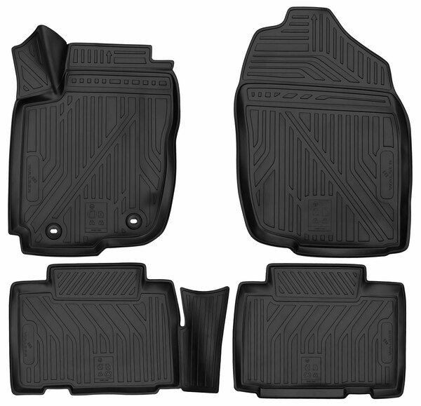 XTR rubber mats for Toyota RAV 4 IV year 12/2012 - Today
