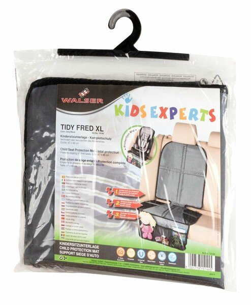 Child seat pad for car back seat Tidy Fred XL