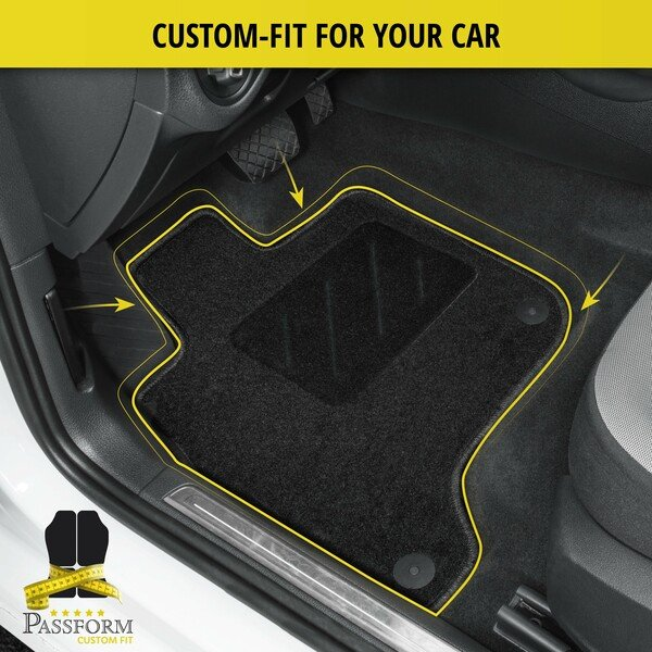 Floor mats for Citroen C8 front year 09/2002 - Today