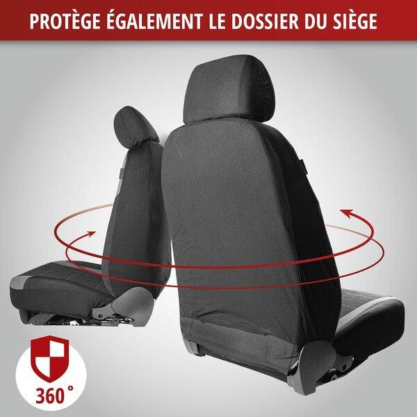 ZIPP IT Premium Inde - Housses de sièges pour deux sièges avant avec système de fermeture éclair