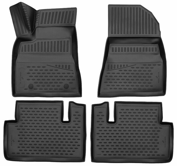 XTR rubber mats for Tesla Model 3 year 01/2017 - Today