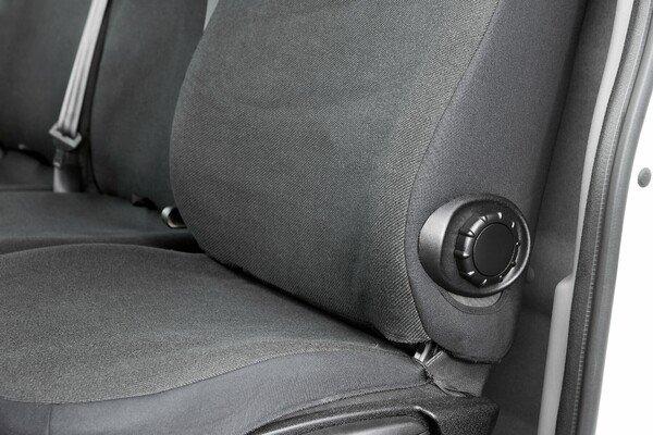 Housses de sièges pour les sièges simples et doubles de l'Opel Movano, du Renault Master et de la Nissan Interstar