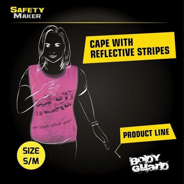 Reflective leisure vest S-M pink
