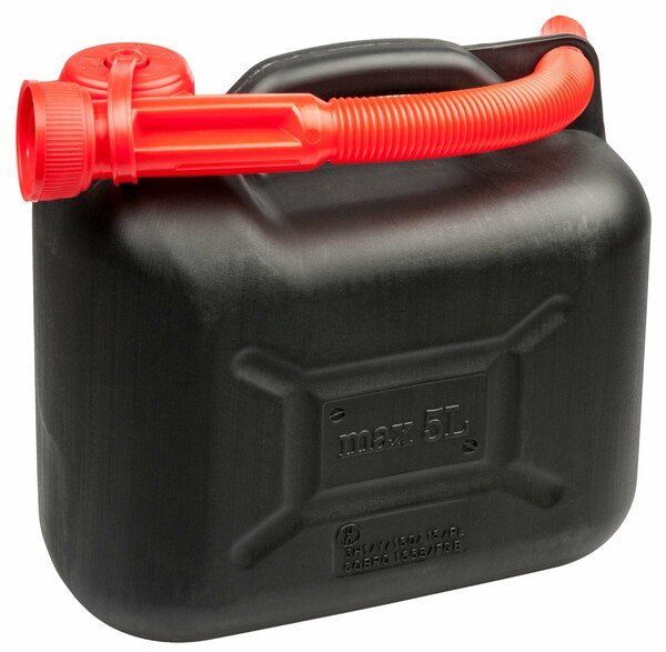 petrol canister 5 litres - UN-approved with safety closure