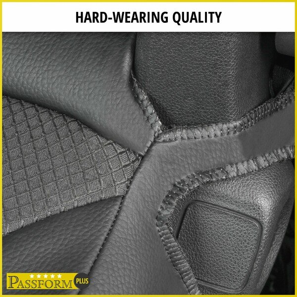 Premium Car Seat cover for Citroen Berlingo 2 single seat and double bench in front year 2009-Today