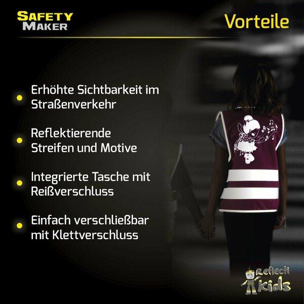 Sicherheitsweste 3-6 Jahre Ballett Doll
